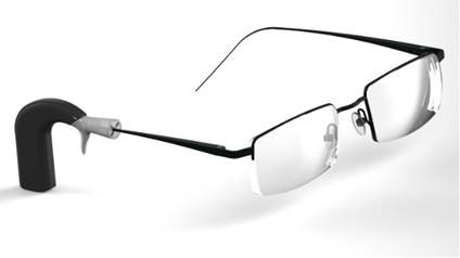 Речевой процессор кохлеарного импланта прикрепили к очкам